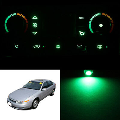 Green Climate Control AC Heater Temperature Knob LED Light Bulb for 01-03 L300