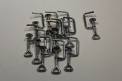 """Clamps Lot of 12 Steel 2"""" C Clamps"""