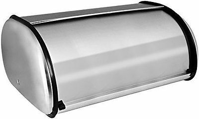 Home-it Stainless Steel Bread Box for kitchen, bread bin, bread storage