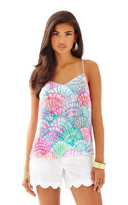 1918046f9b8 NEW LILLY PULITZER Dusk Racer Back Tank Top, Gorgeous! XS - $44.10 ...