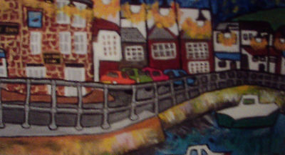 "Fridge magnet St Ives  2"" x 3.5"" By Casimira Mostyn"
