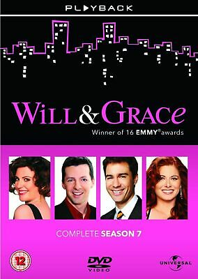 Will and Grace Complete Season 7 DVD Series Brand New & Sealed UK Original R2