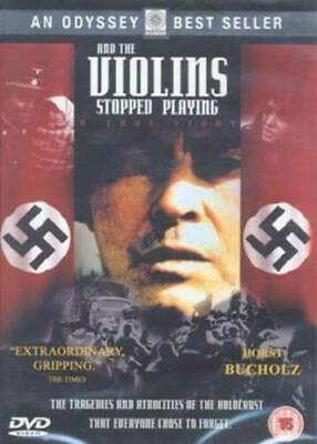 And the Violins Stopped Playing DVD Brand New Gypsies Poland WW2 Movie UK R2