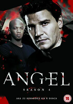 Angel Complete Season 4 DVD Series Brand New and Sealed Original UK Release