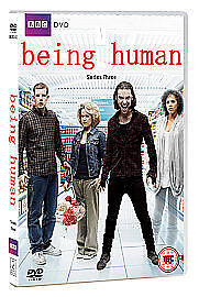 BEING HUMAN COMPLETE SERIES 3 DVD Brand New and Sealed Season UK Release