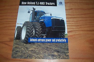 New  Holland  Tj440 4Wd  Tractors Literature