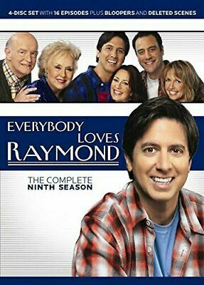 EVERYBODY LOVES RAYMOND COMPLETE SERIES 9 DVD Ninth 9th Season Nine UK  NEW  R2