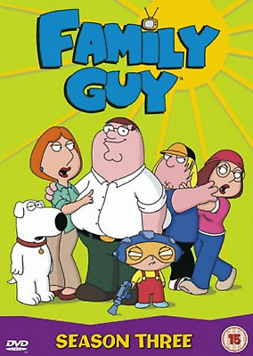 Family Guy Complete Series 3 DVD Season Brand New and Sealed Original UK Release