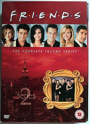 FRIENDS COMPLETE TV SERIES 2 DVD ALL Episodes from 1st Season US SITCOM Comedy