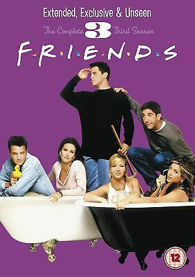 FRIENDS COMPLETE TV SERIES 3 DVD ALL Episodes from 1st Season US SITCOM Comedy