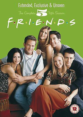 FRIENDS COMPLETE TV SERIES 5 DVD ALL Episodes from 1st Season US SITCOM Comedy