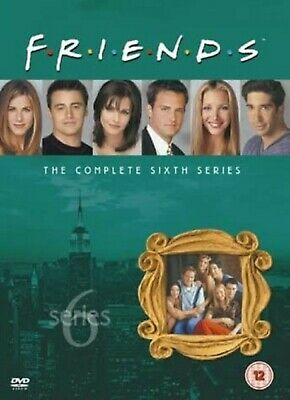 FRIENDS COMPLETE TV SERIES 6 DVD ALL Episodes from 1st Season US SITCOM Comedy