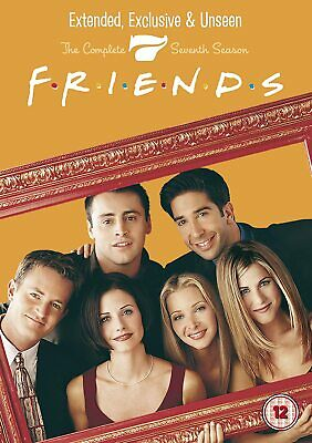 FRIENDS COMPLETE TV SERIES 7 DVD ALL Episodes from 1st Season US SITCOM Comedy