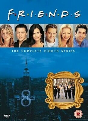 FRIENDS COMPLETE TV SERIES 8 DVD ALL Episodes from 1st Season US SITCOM Comedy