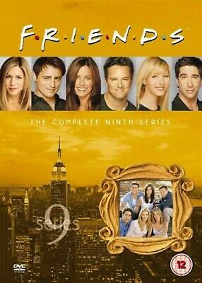 FRIENDS COMPLETE TV SERIES 9 DVD ALL Episodes from 1st Season US SITCOM Comedy