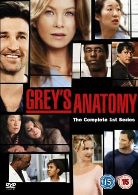 Grey's Anatomy Complete Series 1 DVD Box Set Season New Sealed UK R2 1st Greys
