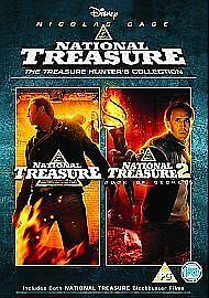 National Treasure Dvd Collection All 2 Movies Films Double Pack New Uk Part 1 2