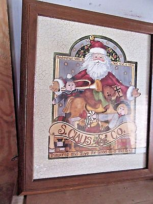 """Home Interior St Claus Co. """"Treasures and Toys for good Girls and Boys By Beth Y"""