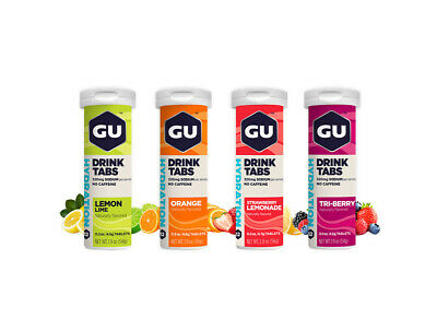 Gu Brew Electrolyte Tablets - Now in 6 Great Flavours