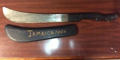 Vintage Robert Mole & Sons STEAMER Sword Machete JAMAICA  Early 20th Century
