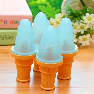 Frozen Ice Cream Pop Mold Popsicle Maker Lolly Mould Safe Tray Pan Kitchen DIY