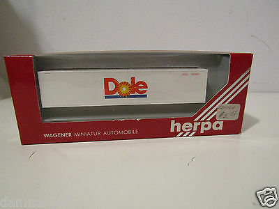 Herpa HO 1:87 Container 7537 Dole