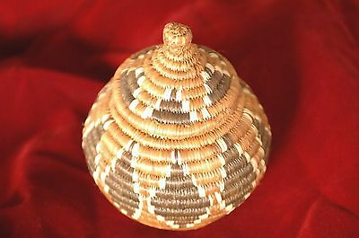 Old African Handmade Basket …beautifully woven