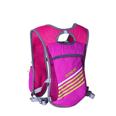 Hydration Vest Hydration Pack Backpack for Mochilas Trail Marathoner Running Red