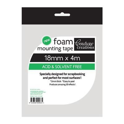 Couture Creations - Foam Mounting Tape 18mm x 4m CO721963