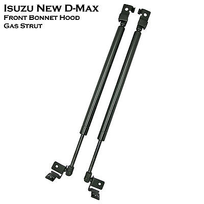 1 Set Front Hood Bonnet Gas Shock Strut Damper Lifts Support Fit Isuzu Dmax 12++