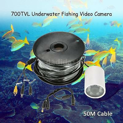 50M Underwater Video Camera Infrared IR LED Lights Fish Finder Detector H2E1