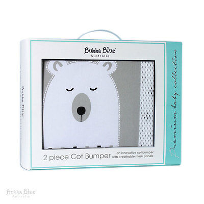 Bubba Blue Polar Bear Cot Bumper