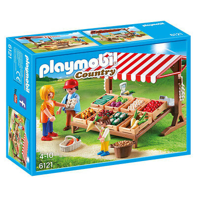 NEW Playmobil Country Life Farmer Market