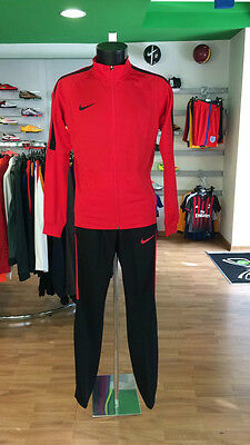 Football Suit Tracksuit Football Sideline Dry Squad Academy Training Red 2017