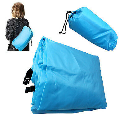 Inflatable Sofa Air Bed Festival Camping Travel Holiday Bag Sleep Lazy Lounger