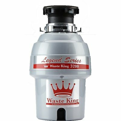 Waste King L-3200 Garbage Disposal Legend Series 3/4 Horsepower Continuous-Feed