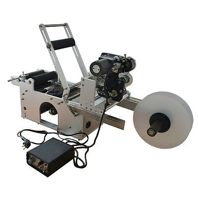 LT-50D Automatic Round Bottle Labeling Machine With Date Code Printer Labeller