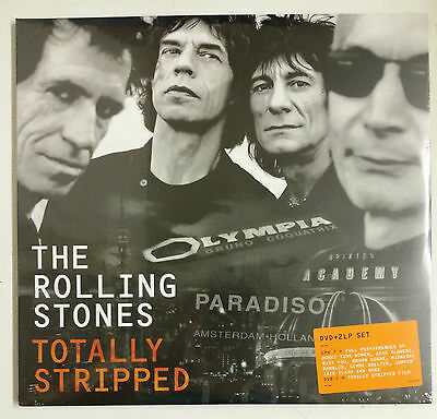 The Rolling Stones Totally Stripped 2-LP + DVD UK 2016 portada trifold