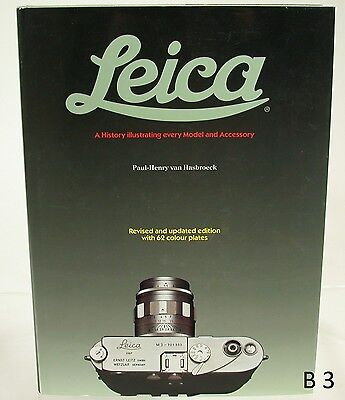 Van Hasbroeck Leica Buch Book History Illustrating every Model and Accessory (4)