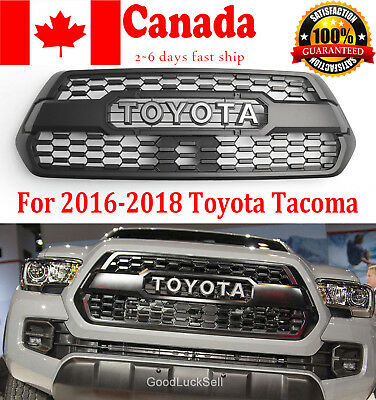 For 16-18 Toyota Tacoma OEM TRD PRO Style Front Bumper Hood Grille PT228-35170