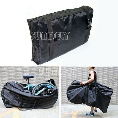 """26"""" Padded Bike Cycling Lounge Travel Luggage Bag Carrier Storage Protection"""