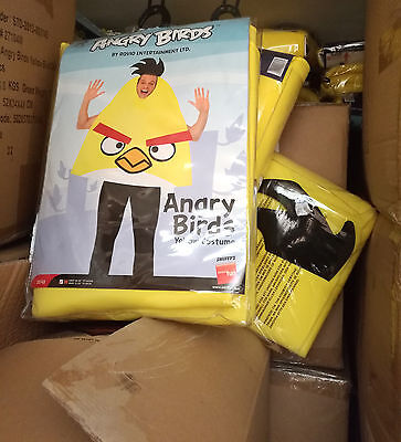 12 x Wholesale Joblot Smiffy's Angry Bird Adult Men Fancy Dress Costume Clothes
