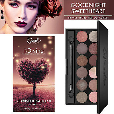 Sleek Make up - I Divine 12 Colours Eyeshadow - Goodnight Sweetheart