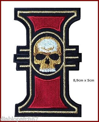 Inquisition Logo Symbol Warhammer 40,000 [3.5 Inches] Patch - Velcro hook back