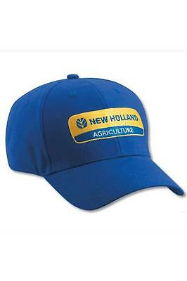 New Holland Blue Cap with Blue   Yellow Logo Men s Adjustable NH1016 e862514cfca8
