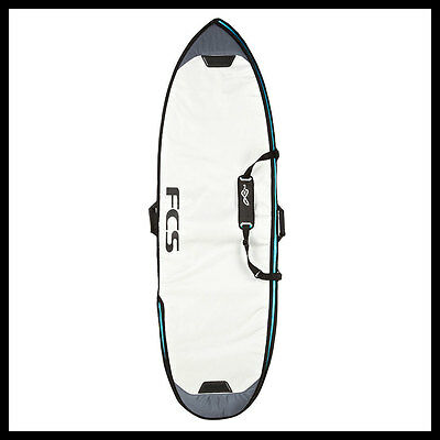 "FCS Explorer Short Board Bag 6'0"" Grey"