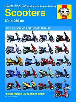 Peugeot Speedfight Squab 50 100 Haynes Automatic Scooter Service & Repair Manual