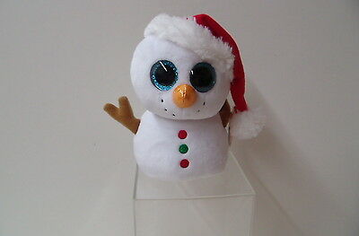 Scoop The Snowman(37195) - The  Beanie Boos From Ty
