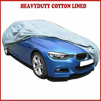 PEUGEOT 206cc 98-09 PREMIUM FULLY WATERPROOF CAR COVER COTTON LINED LUXURY HEAVY