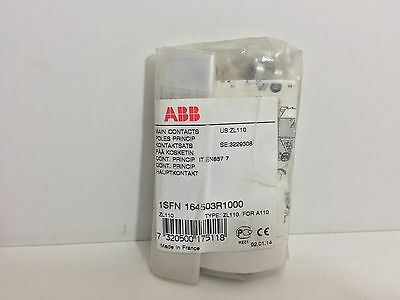 Factory Sealed! Abb Zl110 Main Contact Set 1Sfn164503R1000